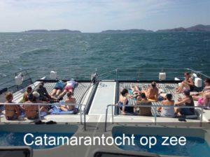 catamarantocht-op-zee